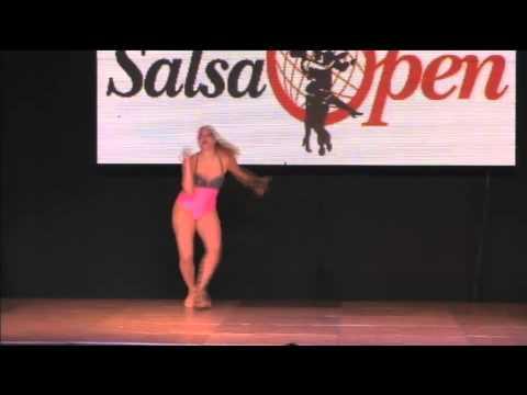 world salsa open 2013Semifinales Solista Femenino