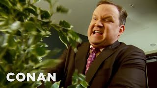 Andy's Houseplants Have Seen Too Much  - CONAN on TBS