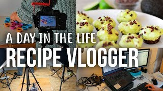 Recipe Food Vlogger - a Day in the Life of Nest and Glow