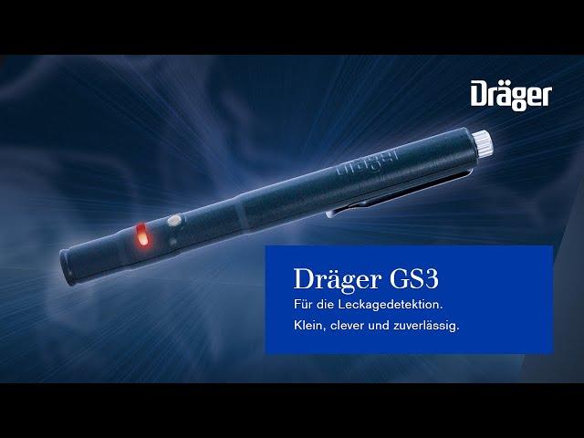 DRÄGER GS3 Leckagedetektion. Klein, clever und zuverlässig.