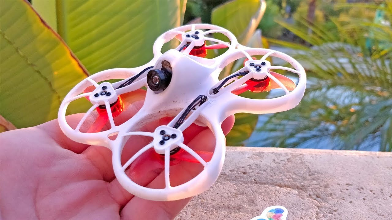 Emax Tinyhawk Indoor FPV Racing Drone BNF F4 4in1 3A 15000KV 37CH 25mW  600TVL VTX 1S - BNF