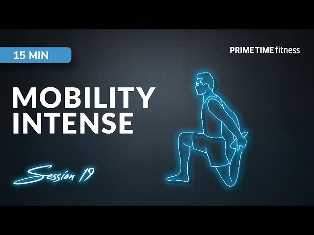 Mobility intense live Workout Session - Vol.19
