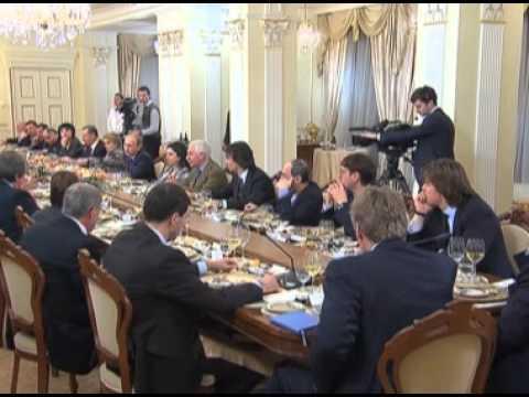 Vladimir Putin: a meeting with media editors