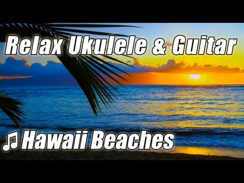 UKULELE Music Hawaiian Instrumental Playlist Acoustic GUITAR Happy Background Songs Hawaii Mix