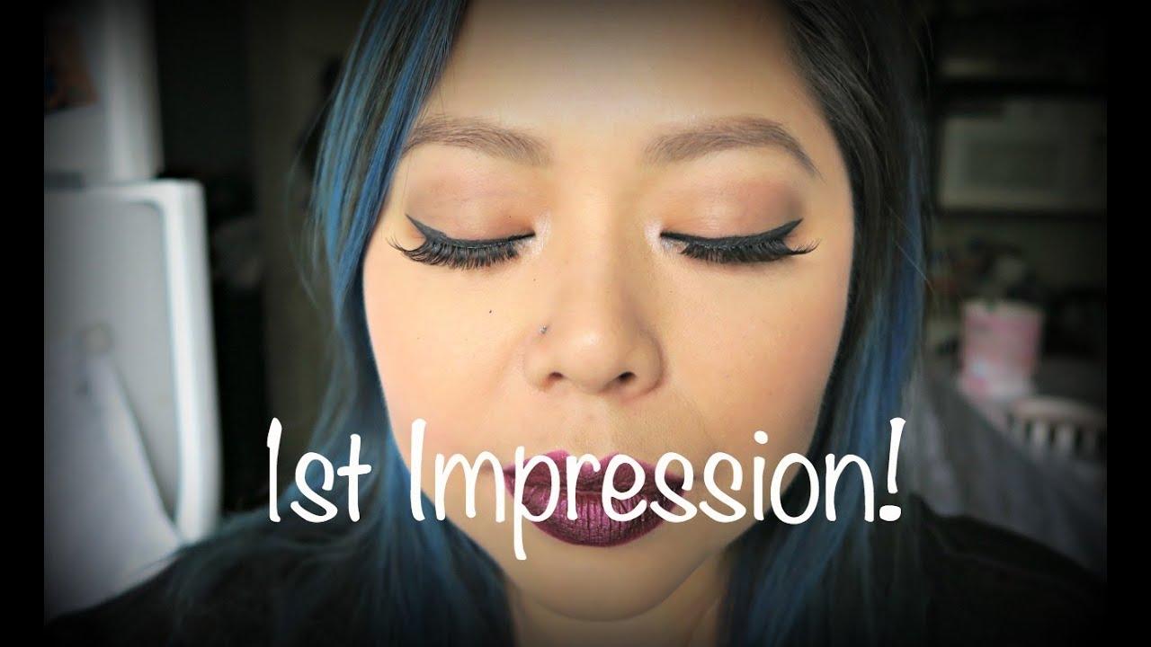 1st Impression Smashbox Photo Angle Pure Pigment Gel Liner Youtube