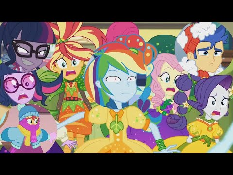 Equestria Girls: Holidays Unwrapped Funny Moments!