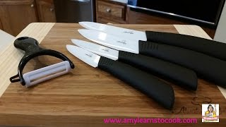 Abundant Chef Test & Review:  Ceramic Knives And Bamboo Cutting Boards