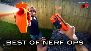 BEST OF NERF OPS 2016 (Nerf meets Call of Duty: First Person Shooter in 4K)