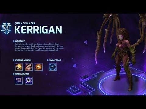 видео: heroes of the storm: Обзор героя kerrigan.