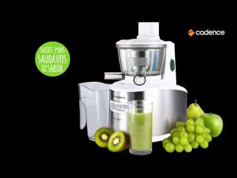 Centrifuga de Alimentos Juicer Cadence, 200W - JCR900 - YouTube