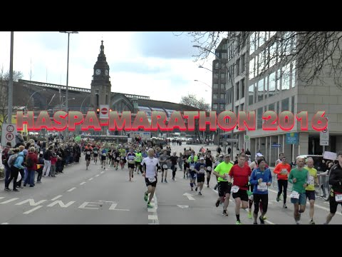 Der Hamburger HASPA Marathon 2016
