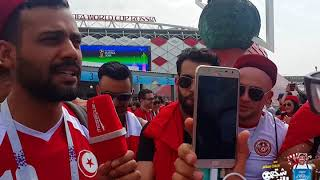 Tunisia VS Belgium World Cup Russia 2018 by Yaourt Délice