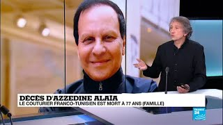 Décès d'Azzedine Alaïa :