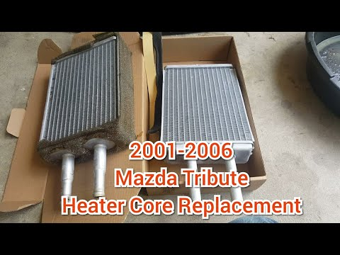 How To Replace A Mazda Tribute Heater Core