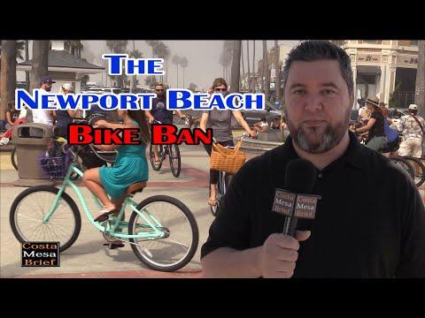 The Newport Beach Bike Ban