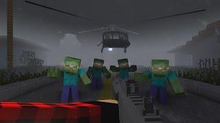 ОБОРОНА ОТ ЗОМБИ в Minecraft