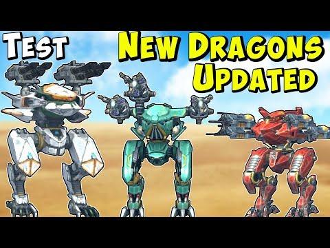 New Updated War Robots AO QIN, AO GUANG & AO JUN Gameplay Test Server WR