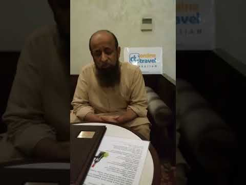 Pakistani Guest talks about his trip - Trip to Azerbaijan