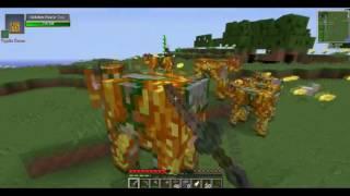 Майнкрафт Выживание с Модами ВОЙНА с МУРОВЬЯМИ Выживание с Другом Minecraft с Модами 1 Серия