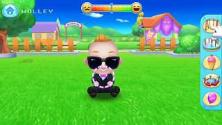 vuclip Baby Boss - Take Care of Naughty Baby - Dress Up, Doctor & Bath Time - Tabtale Care Games for Kids