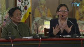 First Tibetan Women's Empowerment Conference: Day 2 Plenary Session Three