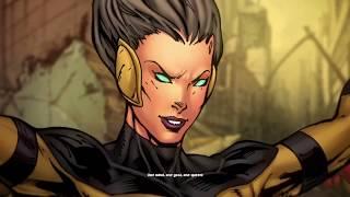 Queen Zazzala of Korll (aka Queen Bee) Mini Movie : Anime : DC : DCUO