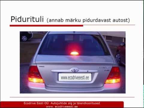 06ed5312aa2 Sõiduki kontrollimine sõidueksamil ja muu vajalik auto käsitsemisel ...