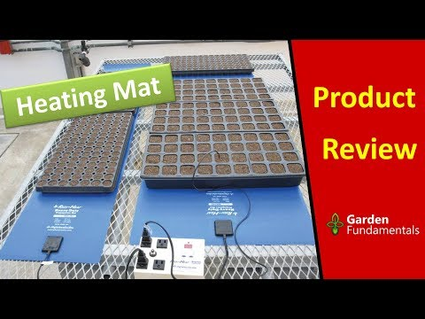 Phytotronics Seedling Heat Mat - Product Review