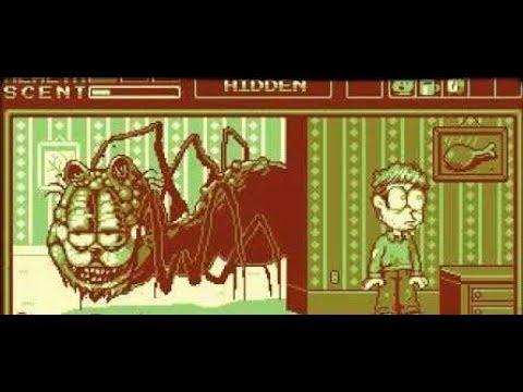 Encuentro El Juego Maldito de GARFIELD DE GAMEBOY ! | Lasagna Boy *PERTURBADOR*