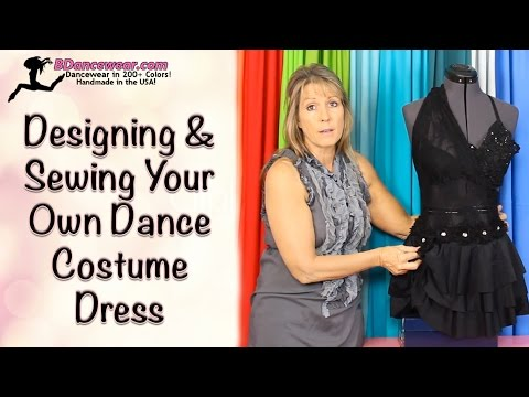 How to Design & Sew Your Own Dance Costume Dress