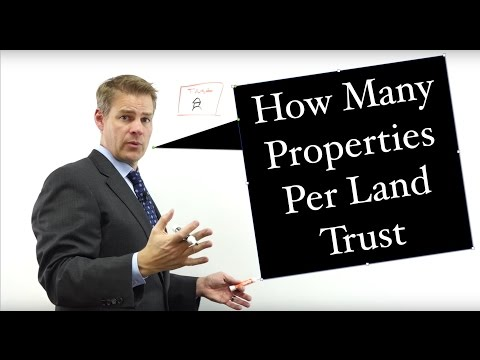 How Many Properties Per Land Trust