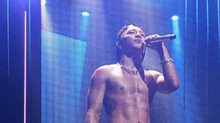 Taeyang 눈 코 입 yokohama end stage 140818 SOL RISE TOUR