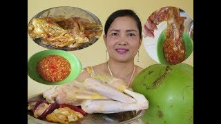 How To Cooking Chicken and Coconut juice With a New Recipe