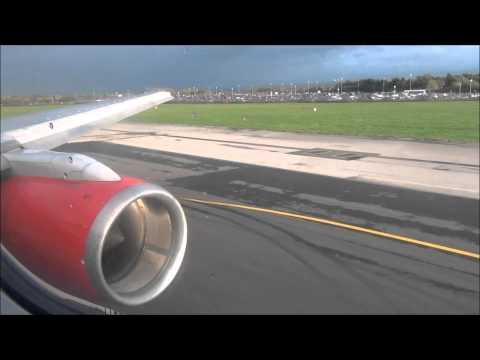 Jet2.com Manchester Airport - Tenerife South Airport - 757-21B - Takeoff & Landing