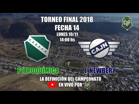 Torneo Final 2018 / PETROQUÍMICA vs JORGE NEWBERY / FECHA 14