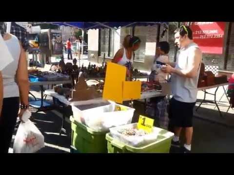West Village outdoor market (Manhattan NYC 2014)