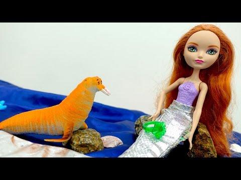 #КУКЛЫ Эвер Афтер Хай. Видео для девочек: Кукла Холли (ever after high) и волшебное кольцо
