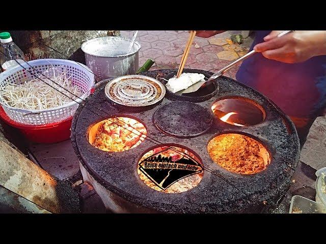 Bánh Xèo - vietnamesische Pfannkuchen | Quang Ngai | Vietnam • Vlog #97