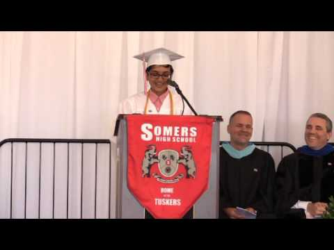 Somers High School Valedictorian (Siya Chauhan) 2016 Speech