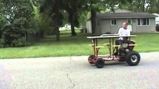 Bar Cart Wheelie - Bar Stool - Picnic Table