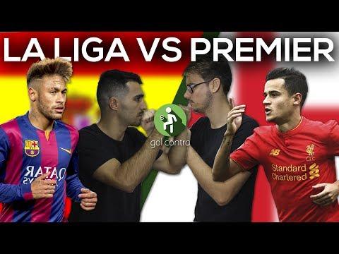 SeleÇÃo la liga vs seleÇÃo premier league