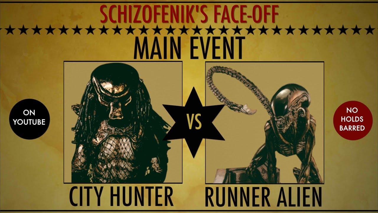 Download FACE-OFF: City Hunter vs Runner Alien