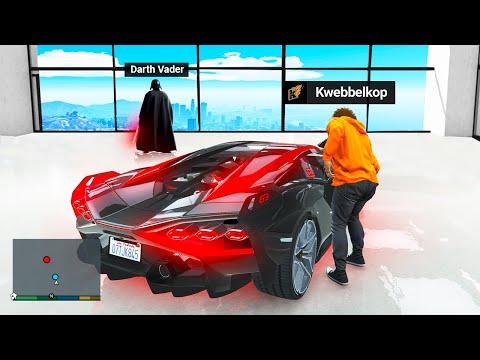 Stealing Super VILLAIN Cars In GTA 5 RP!
