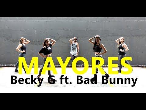Mayores – Becky G ft. Bad Buuny – Coreografia l Cia Art Dance l Zumba®