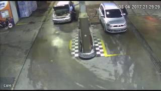 WYBUCH auta na STACJI - MUSISZ TO ZOBACZYĆ!