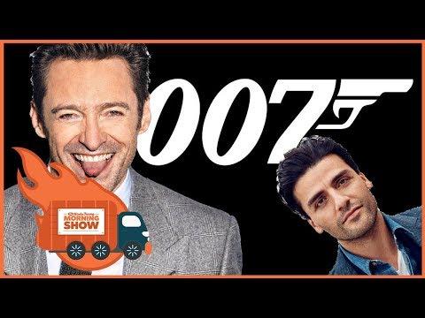 Hugh Jackman Was Almost James Bond - The Kinda Funny Morning Show 12.6.17