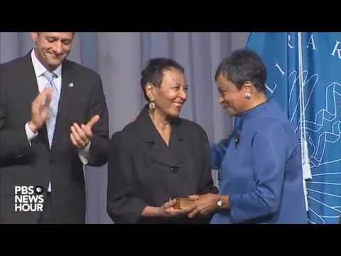 Watch Carla Hayden's full swearing-in ceremony as Librarian of Congress