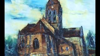 オーベル・シュル・オワーズの役場と教会を、ゴッホが描いたものを観て...