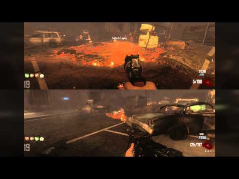 Call of Duty Black Ops 2 Zombies High Rounds Town PS3