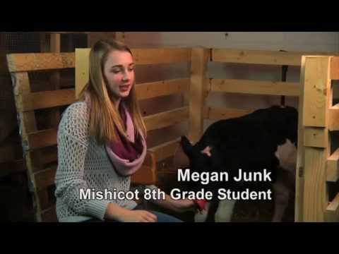 Mishicot Middle School Student Explores FFA